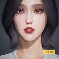 和平精英捏脸数据欧美烟熏妆方案码 和平精英捏脸女数据