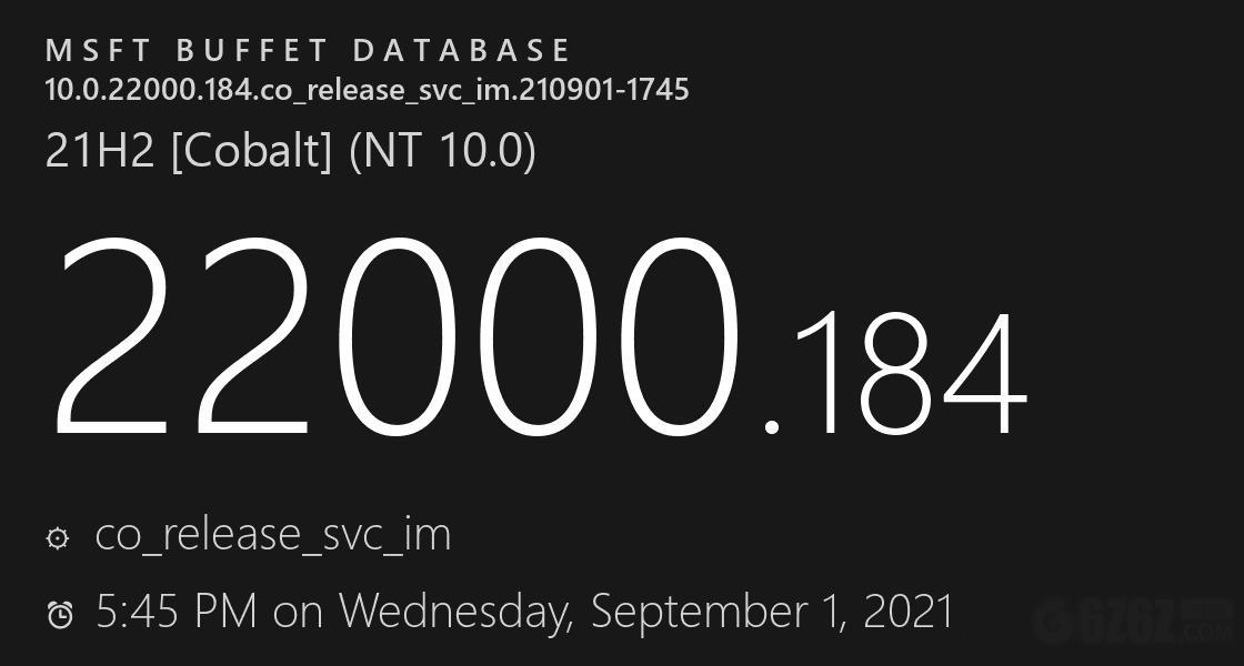 Win11 22000.186离线升级包