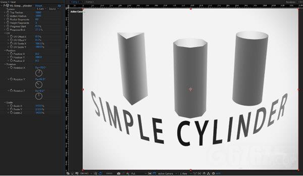 VE Simple Cylinder