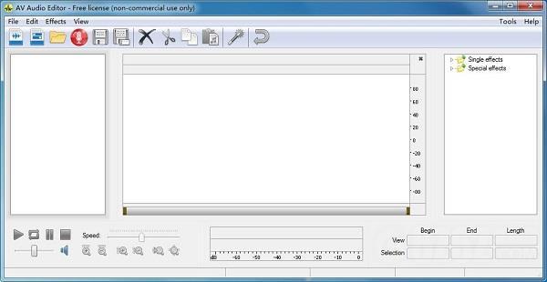 AV Audio Editor