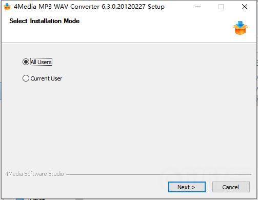 4Media MP3 WAV Converter