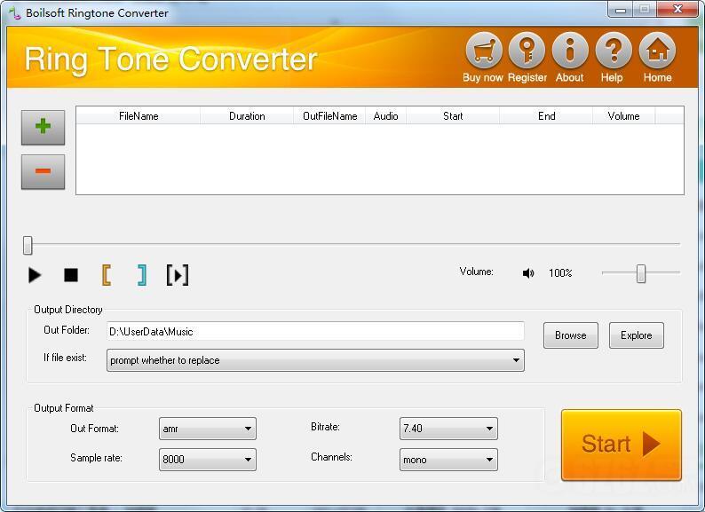 Boilsoft RingTone Converter